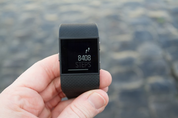 Fitbit-Surge-Step-Count