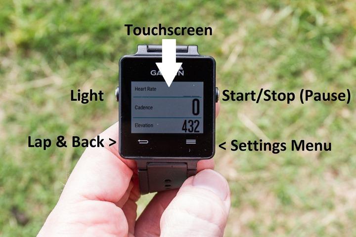 Garmin-Vivoactive-Button-Layout