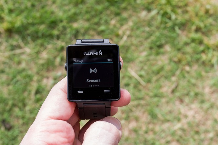 Garmin-Vivoactive-Sensors-Menu