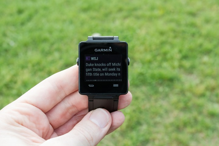 Garmin-Vivoactive-Text-Details