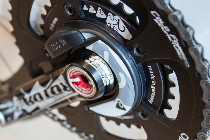 Photo: lowest crank-region power meter actively shipping on the market. It also makes for the cheapest full-power capturing device on the market today.