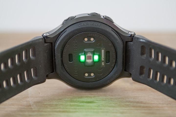 Garmin-FR225-OpticalHR-Sensor