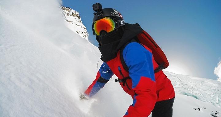 GoProHero4Session-Skiing