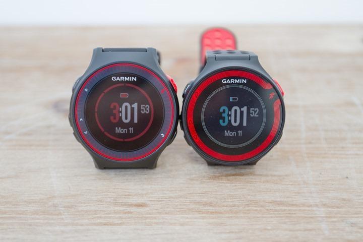 Garmin-FR220-FR225-Comparison