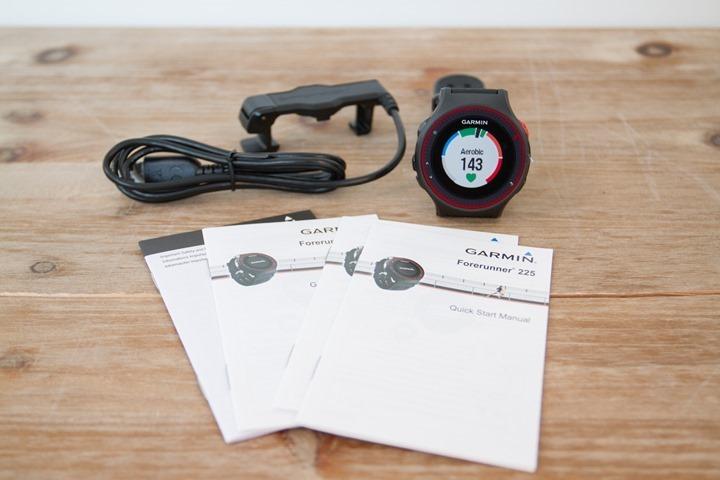 Garmin-FR225-Box-Parts