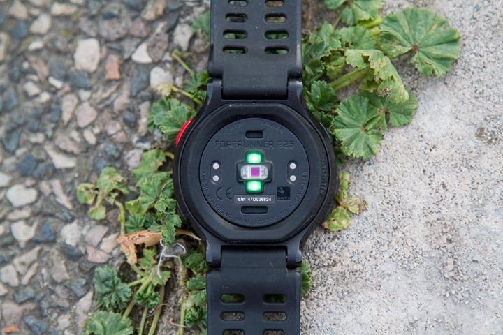 Garmin-FR225-Optical-HR-Sensor