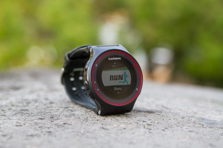 Garmin-FR225-RunPage