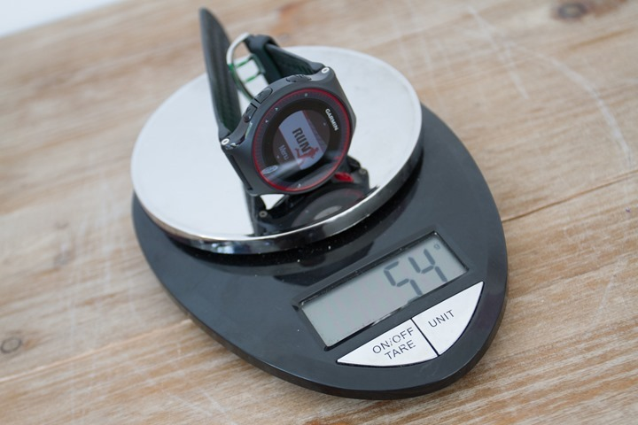 Garmin-FR225-Weight