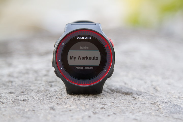 Garmin-FR225-Workouts