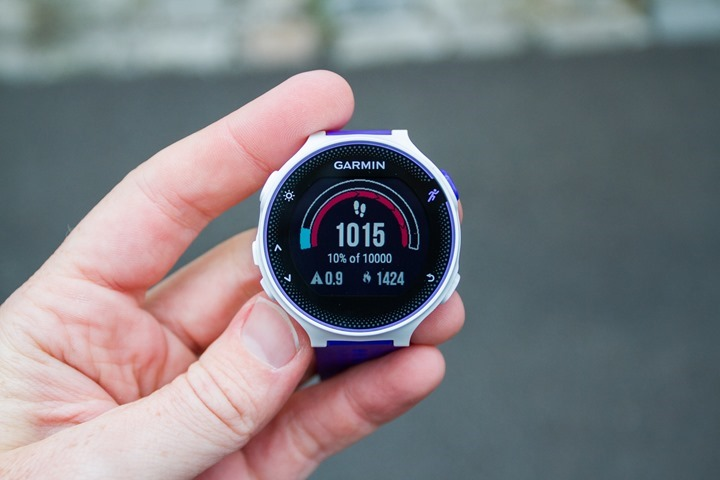 Garmin-FR230-ActivityTracking