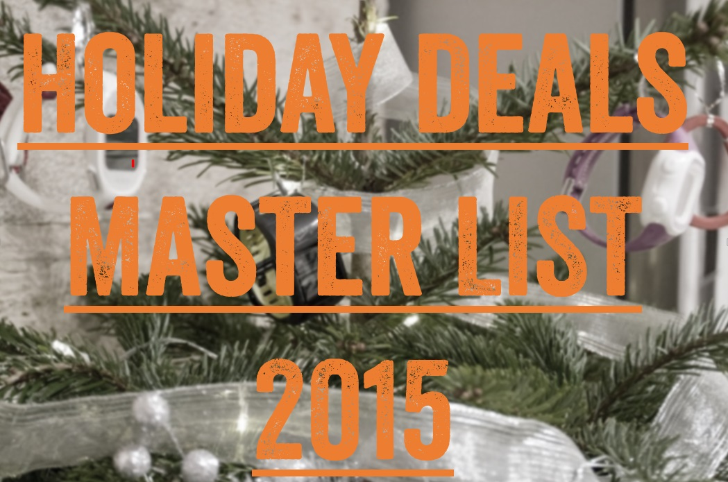 Click here for the 2015 Holiday Deals!