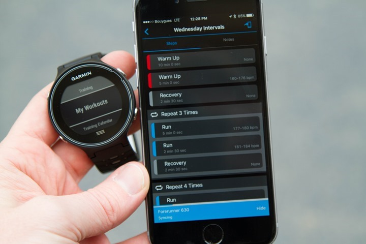 Garmin-FR630-Transfer-Workout