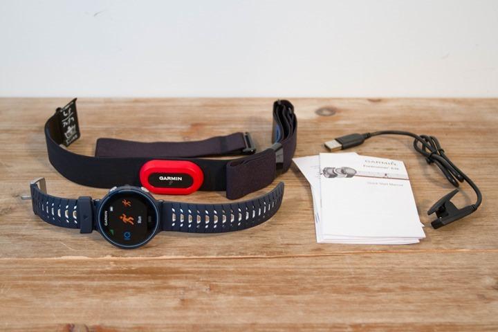 Garmin-FR630-Unboxing-Components