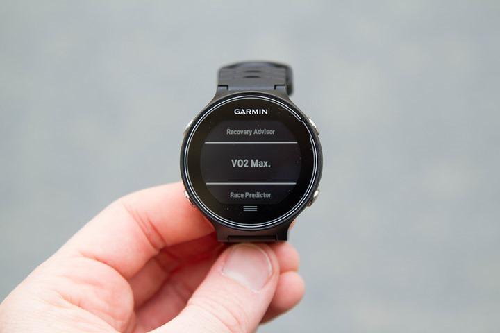 Garmin-FR630-VO2Max