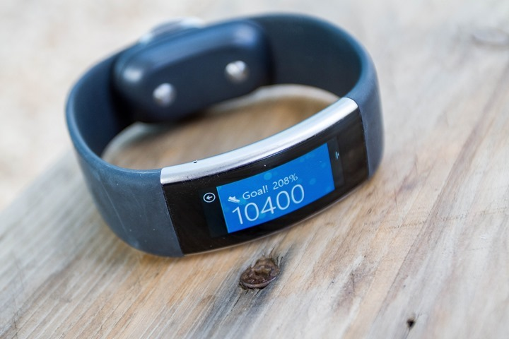 this past fall microsoft released their second activity tracker the microsoft band 2 near exactly one year after they released the original microsoft