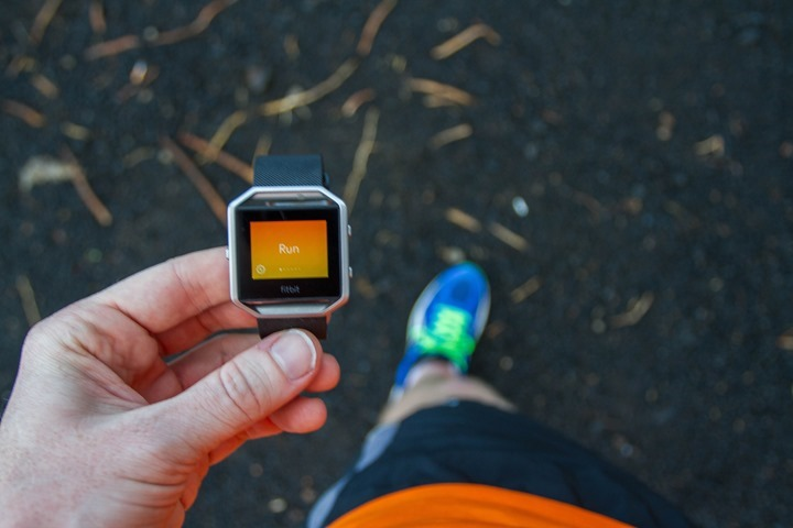 Fitbit-Blaze-Run-Start
