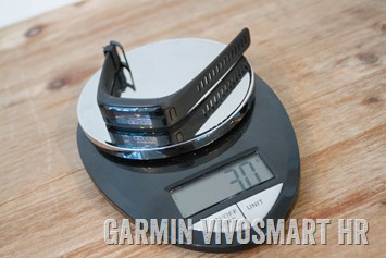 Garmin-Vivosmart-HR-Weight-30g