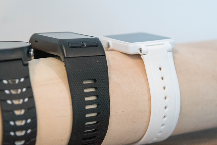 In Many Ways The Unit Is Very Similar Size To Fitbit Surge Vivoactive Hr Maintains Same Depth Across Entirety Of