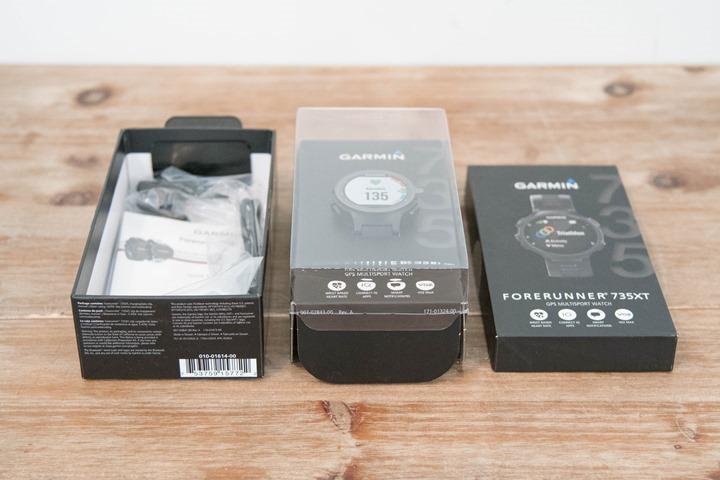 Garmin-FR735XT-Box-Pieces