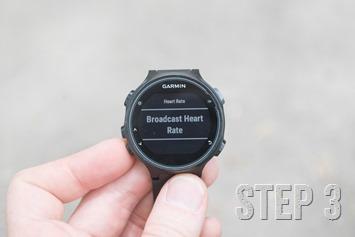 Garmin-FR735XT-HR-Rebroadcasting-Start