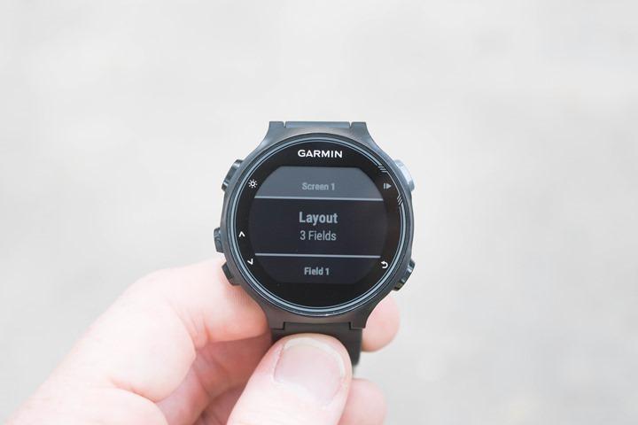 Garmin-FR735XT-Running-Data-Fields
