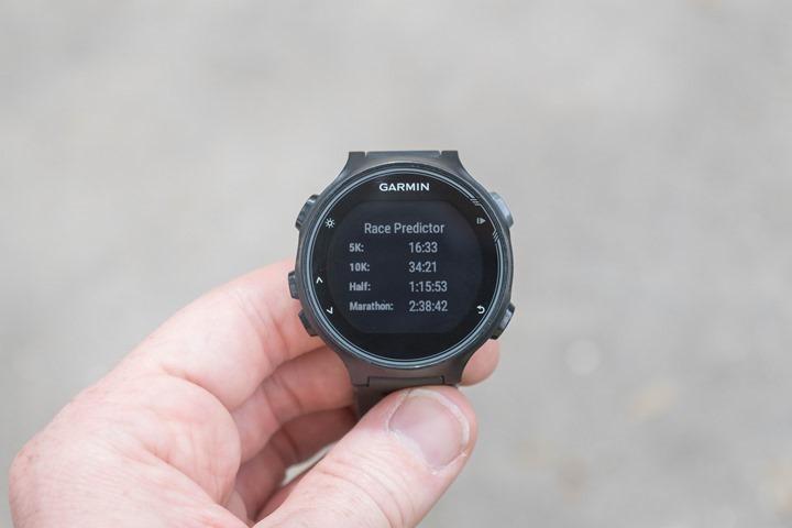 Garmin-FR735XT-Running-Predictor