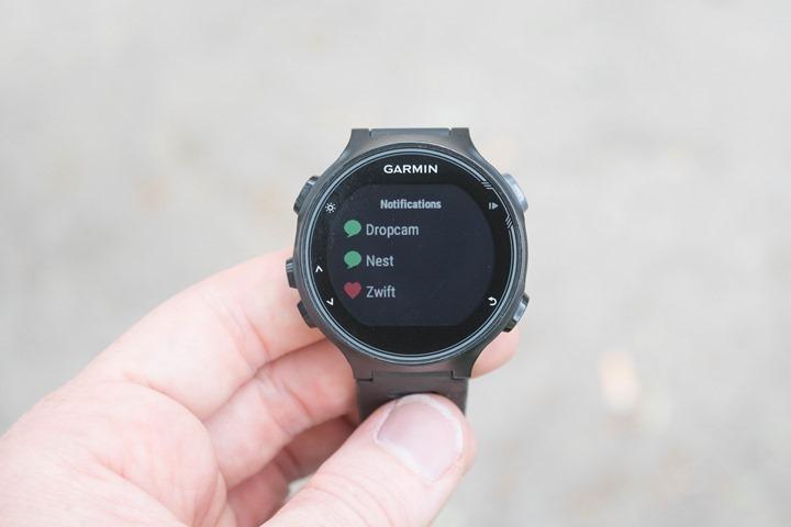 Garmin-FR735XT-Smartphone-Notification-Center