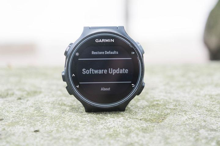 Garmin-FR735XT-Software-Update