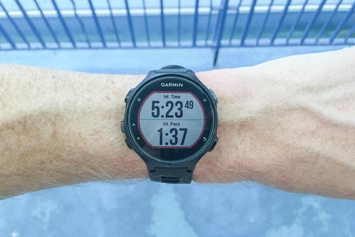 Garmin-FR735XT-Swimming-Pool-Mode