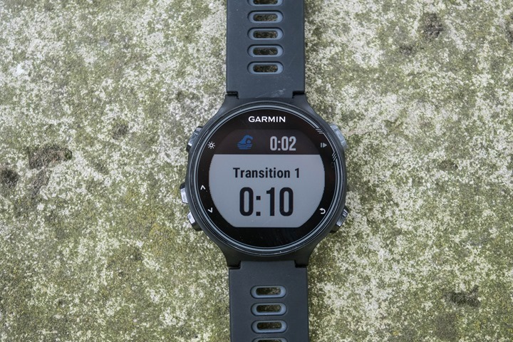 Garmin-FR735XT-Triathlon-Mode-T1-Screen