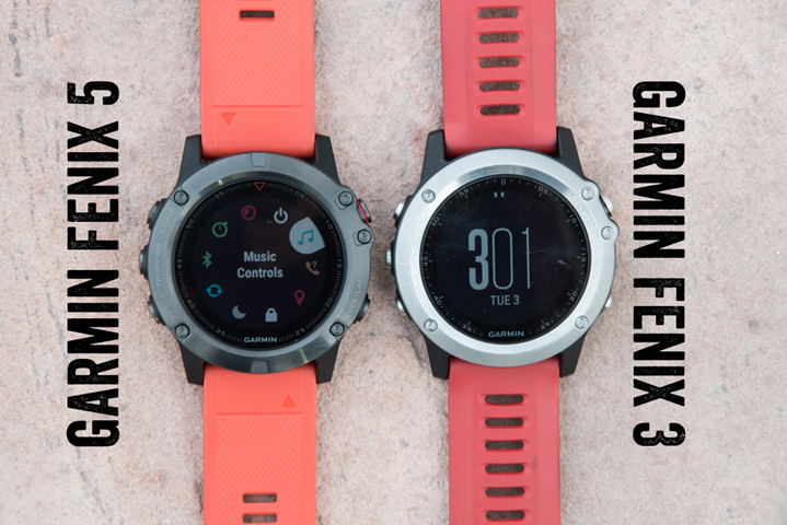 Hands On Garmin S New Fenix 5 Multisport Gps Series With Mapping
