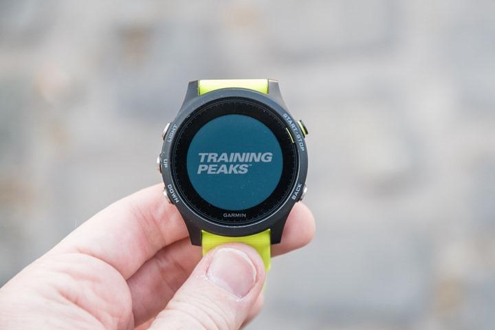 Garmin-ConnectIQ-TrainingPeaksApp