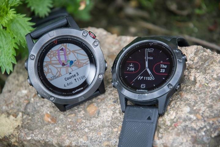 Garmin Fenix 5 5s 5x In Depth Review Dc Rainmaker