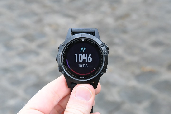 Garmin-Fenix5-Activity-Tracking