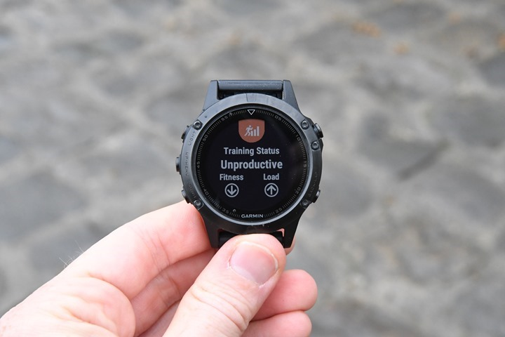 Garmin-Fenix5-Training-Status