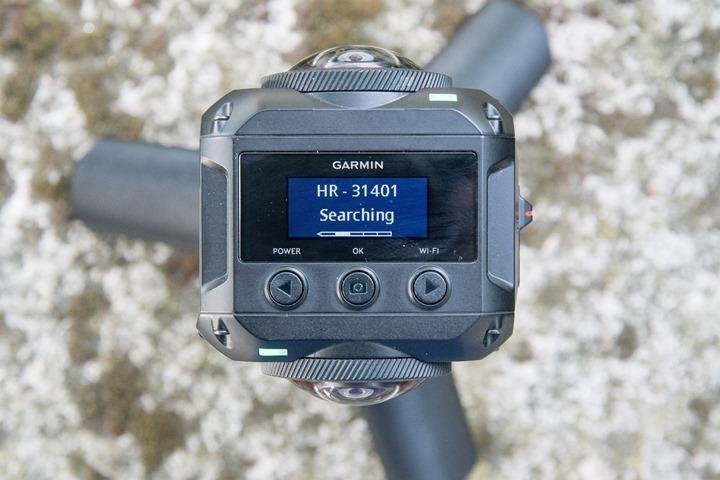 Garmin-VIRB-360-ANT-Sensors-Heart-Rate