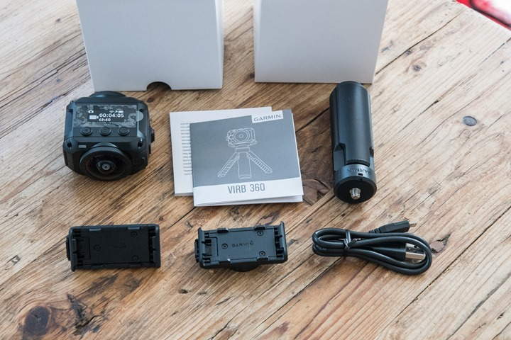 Garmin-VIRB-360-Box-Parts-Unpacked