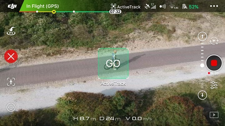 DJI-Spark-Active-Track-Go-Button