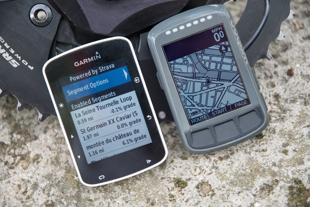 Best Bike Computer 2017: Garmin Edge 520 vs Wahoo BOLT