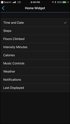 Vivosport-Home-Widgets