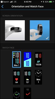 Vivosport-Watch-Faces