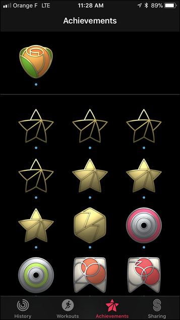 Apple Watch Series 3 Achievements and Badges