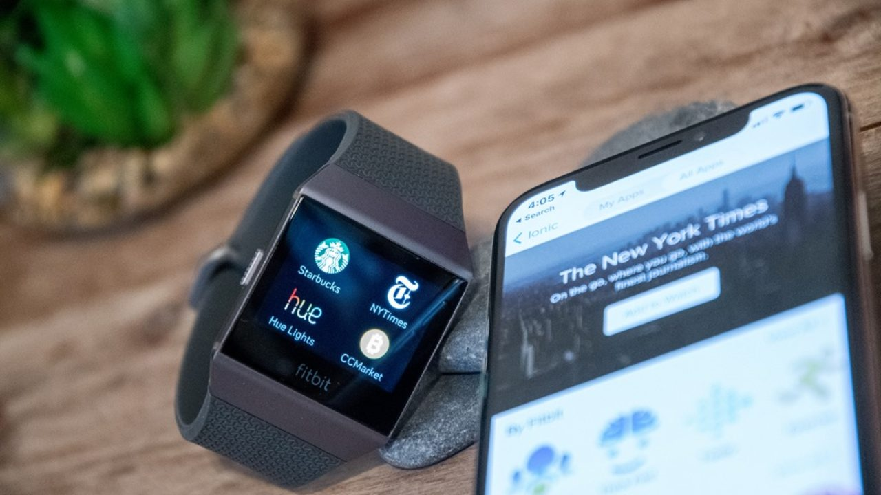 Fitbit rolls out slew of apps to Ionic…and…umm…virtual cats | DC