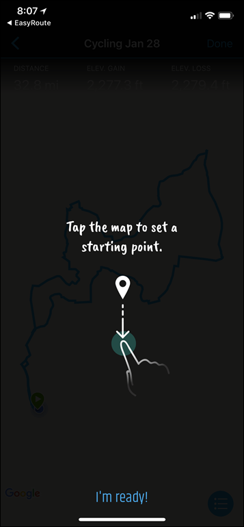 Quick Tip: Quickly creating routes on your phone for your