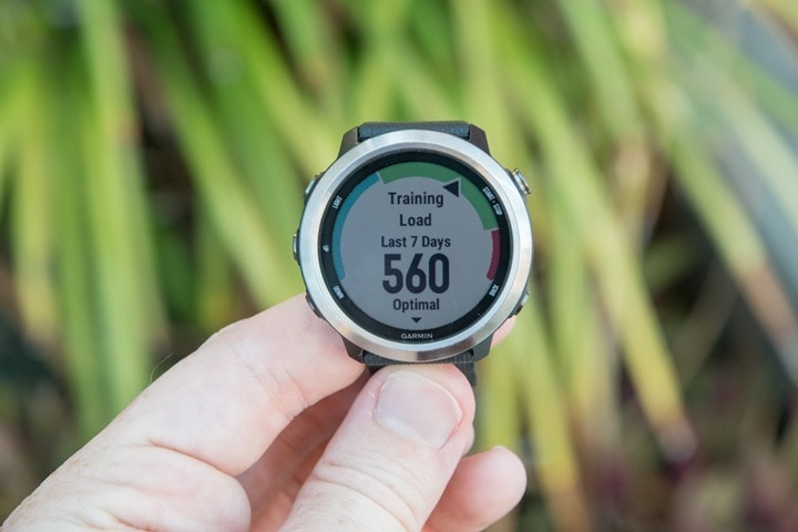 Garmin-FR645-Training-Load