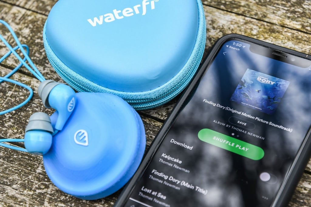 Hands-on: Waterfi's Spotify Streaming Swimming Music Player