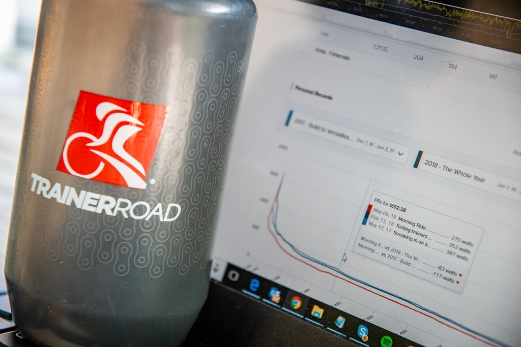 TrainerRoad now pulls in outside rides, adds training log and load
