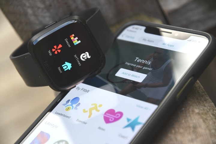 Fitbit Versa In-Depth Review | DC Rainmaker