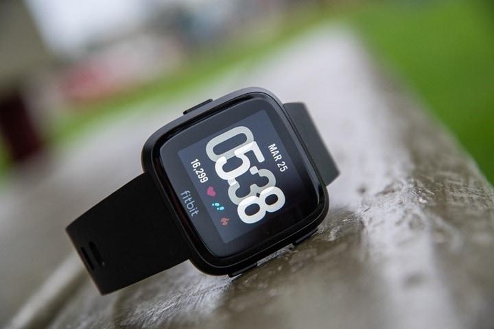 Fitbit-Versa-Übersicht
