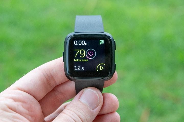 Fitbit Versa In-Depth Review | DC Rainmaker